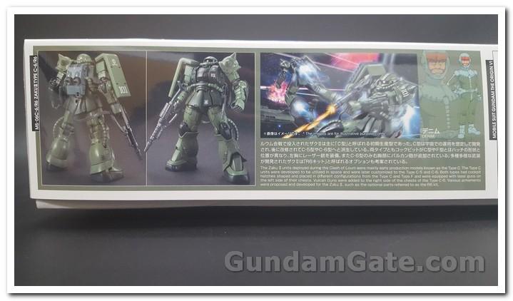 HG Zaku II Type C6-R6 có gì trong hộp ? 2