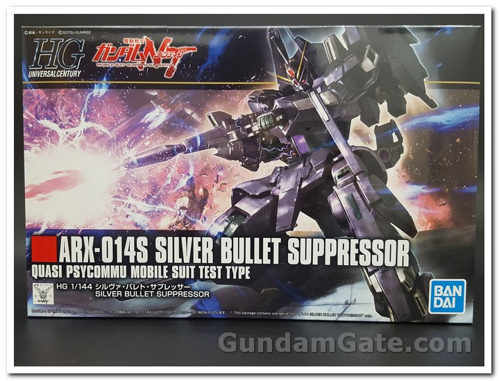 Hộp HGUC Silver Bullet Suppressor