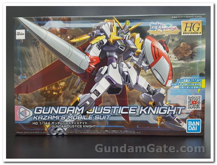 hộp HDBD-R Gundam Justice Knight