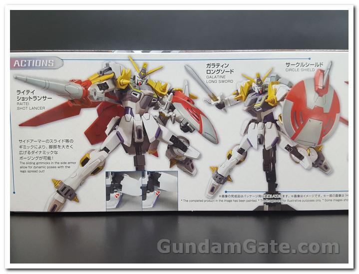 Những kiểu tạo dáng tuyệt đẹp của Gundam Justice Knight