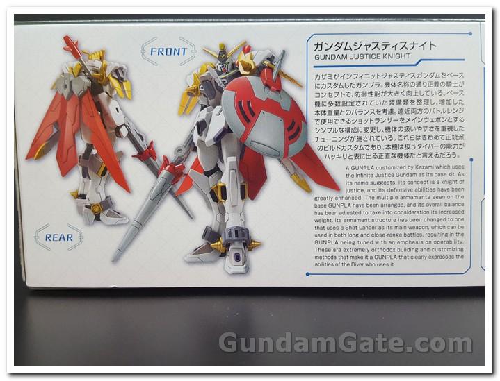 Mở hộp HDBD-R Gundam Justice Knight 1