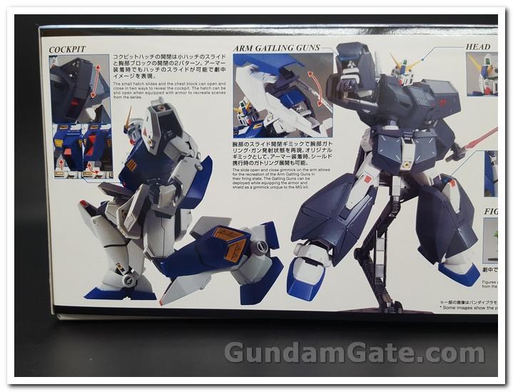 Các tư thế chiến đấu của Gundam NT-1