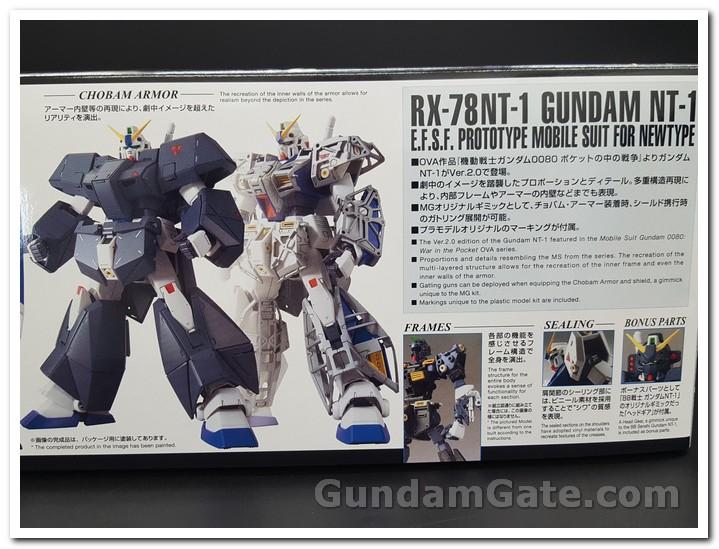 Khui hộp 1/100 MG Gundam NT-1 Ver.2.0 2