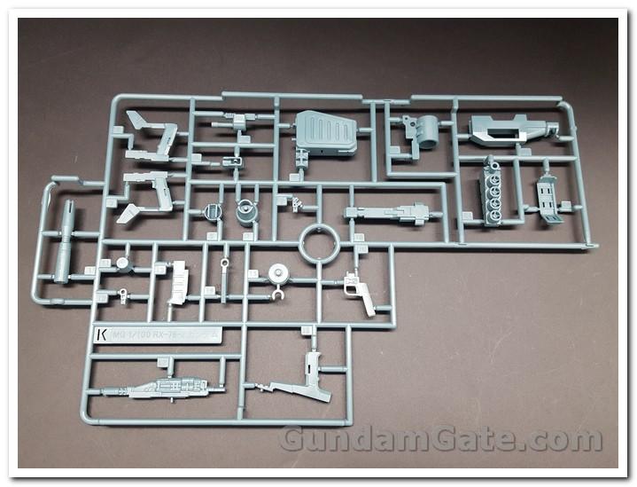 Khui hộp 1/100 MG Gundam NT-1 Ver.2.0 13