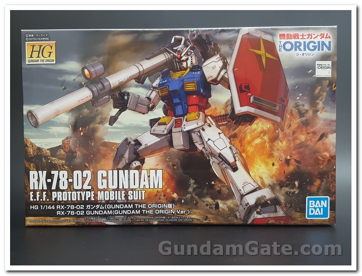 Hộp HG RX-78-02 Gundam
