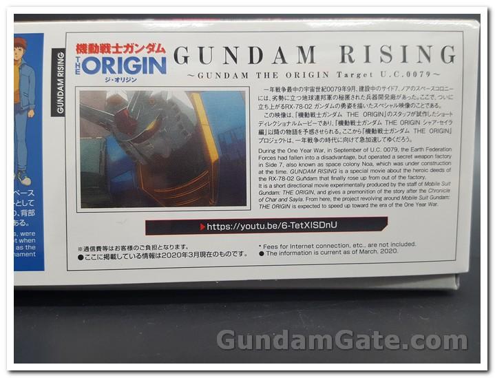 Khui hộp HG RX-78-02 Gundam (The Origin) 2