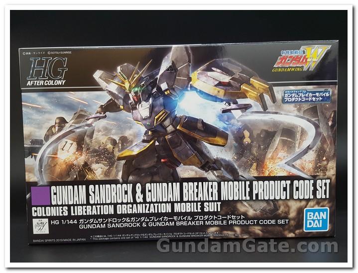 hộp HGAC Gundam Sandrock