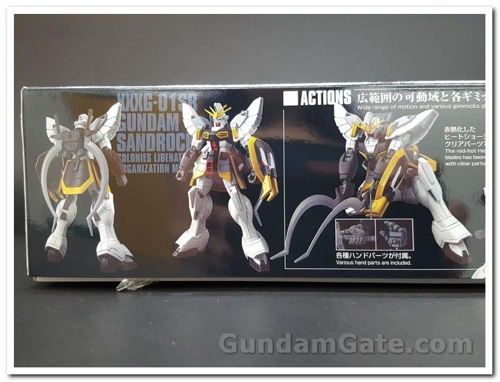 mặt hông hộp HGAC Gundam Sandrock