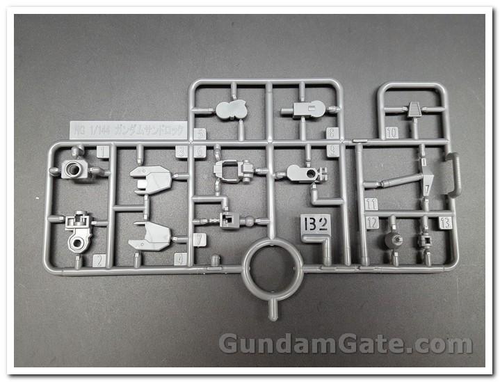 Đập hộp HGAC Gundam Sandrock 3