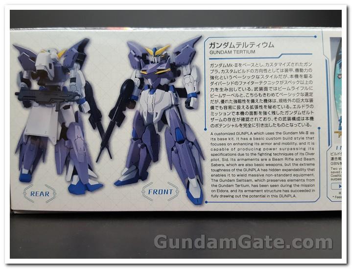 Mở hộp HGBD: R Gundam Tertium 2