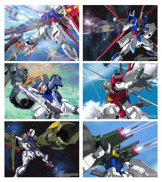 Nâng cấp trang bị cho các Gundam Aile Strike