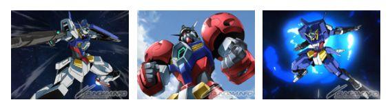 Nâng cấp trang bị cho các Gundam Age-1