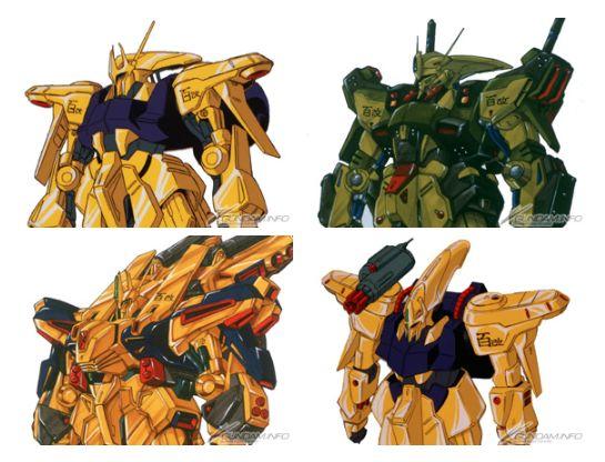 quá trình nghiên cứu và phát triển Gundam cải tiến Hyaku-Shiki