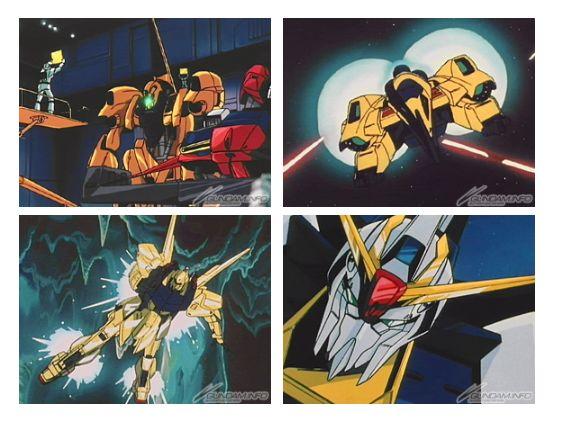 quá trình nghiên cứu và phát triển Gundam