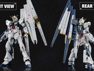 Phát hành RG 1/144 RX-93 Vgundam phiên bản giới hạn (Titanium) và 2 set vũ khí 005, 006 3