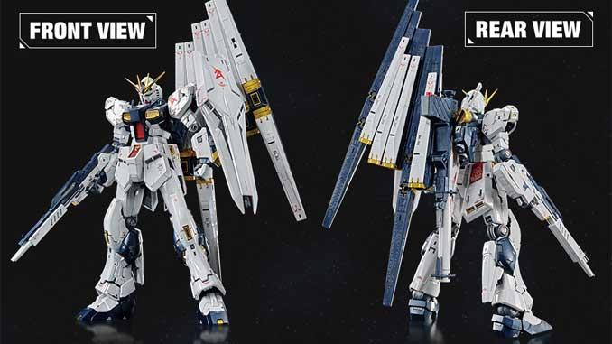 Phát hành RG 1/144 RX-93 Vgundam phiên bản giới hạn (Titanium) và 2 set vũ khí 005, 006 10