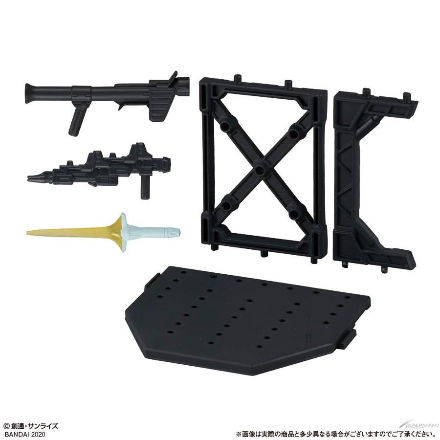Gundam Gashapon Senshi Forte 11 - Display Base Set