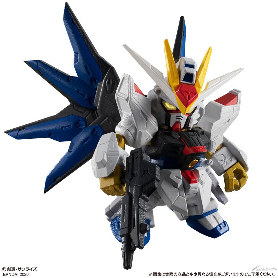 Gundam Gashapon Senshi Forte 11 - strike freedom