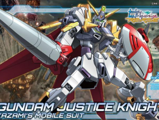 Mở hộp HDBD-R Gundam Justice Knight 2