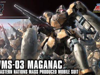 Khui hộp 1/144 HGAC Maganac 1
