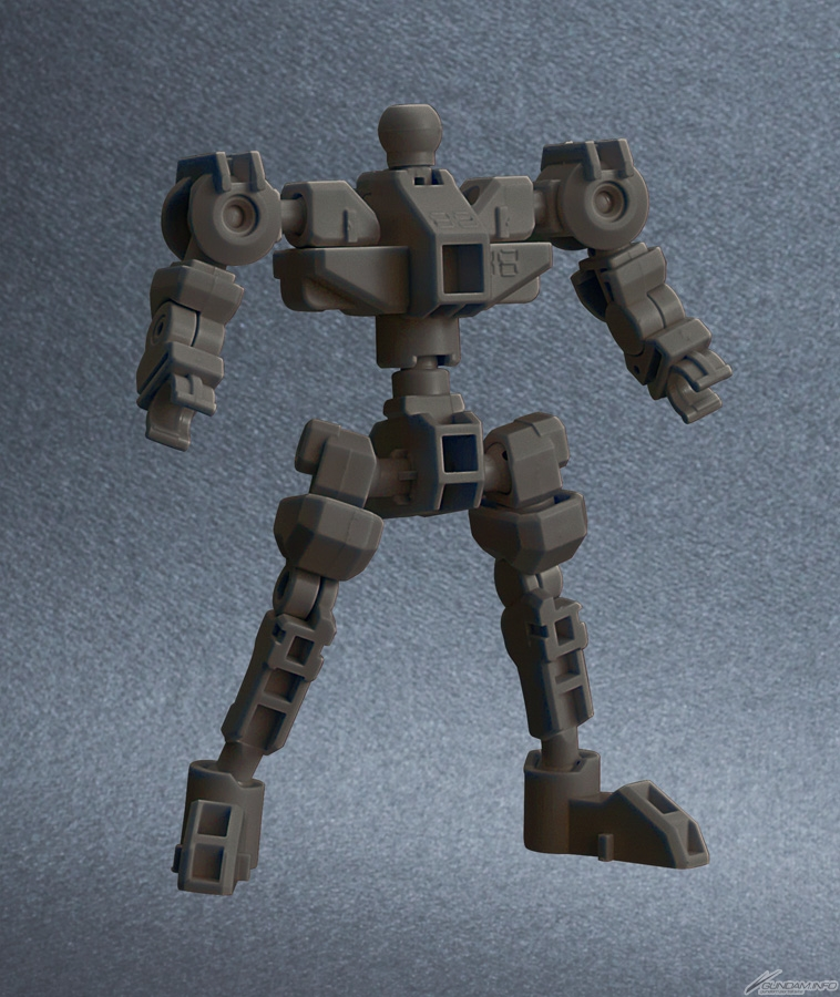 khung xương HG của SDCS Gundam Barbatos Lupus Rex