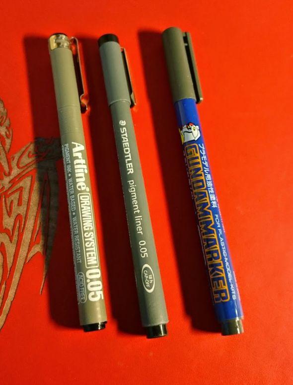 bộ Tools (Công cụ) để lắp ráp Gunpla - gundam marker