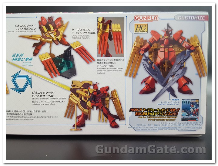 Có gì trong hộp HG Nu-Zeon Gundam? 1