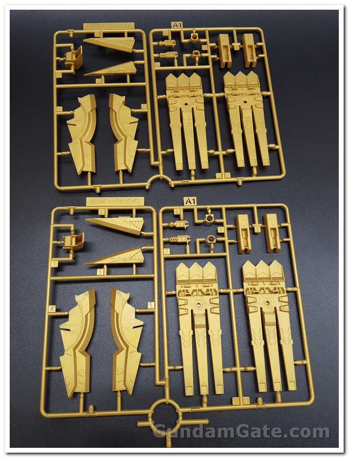 Có gì trong hộp HG Nu-Zeon Gundam? 2