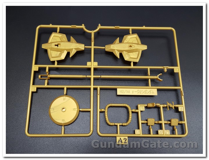 Có gì trong hộp HG Nu-Zeon Gundam? 3