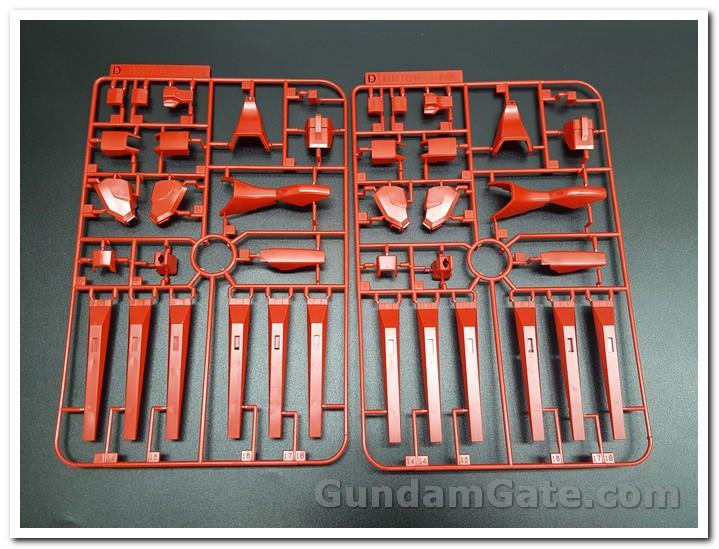 Có gì trong hộp HG Nu-Zeon Gundam? 5