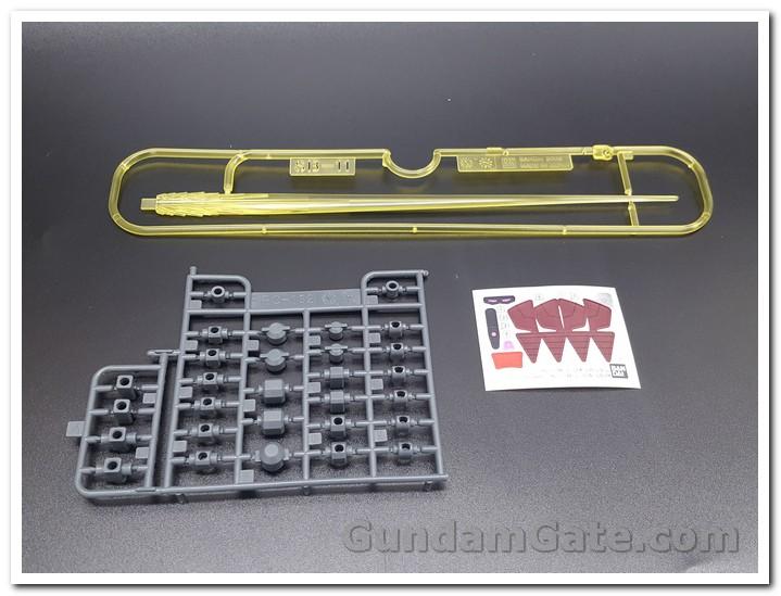 Có gì trong hộp HG Nu-Zeon Gundam? 11