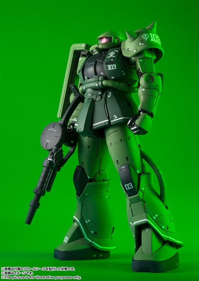 GUNDAM MS-06C Zaku II Type C bản Metal Build mở bán ngày 29-04-2020 3
