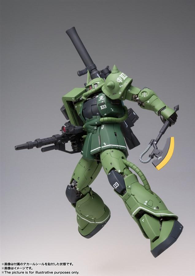 GUNDAM MS-06C Zaku II Type C bản Metal Build mở bán ngày 29-04-2020 2