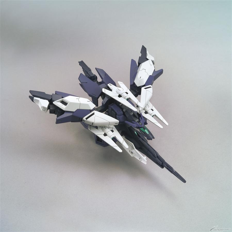 HGBD R 1-144 Uraven Gundam -  core flyer