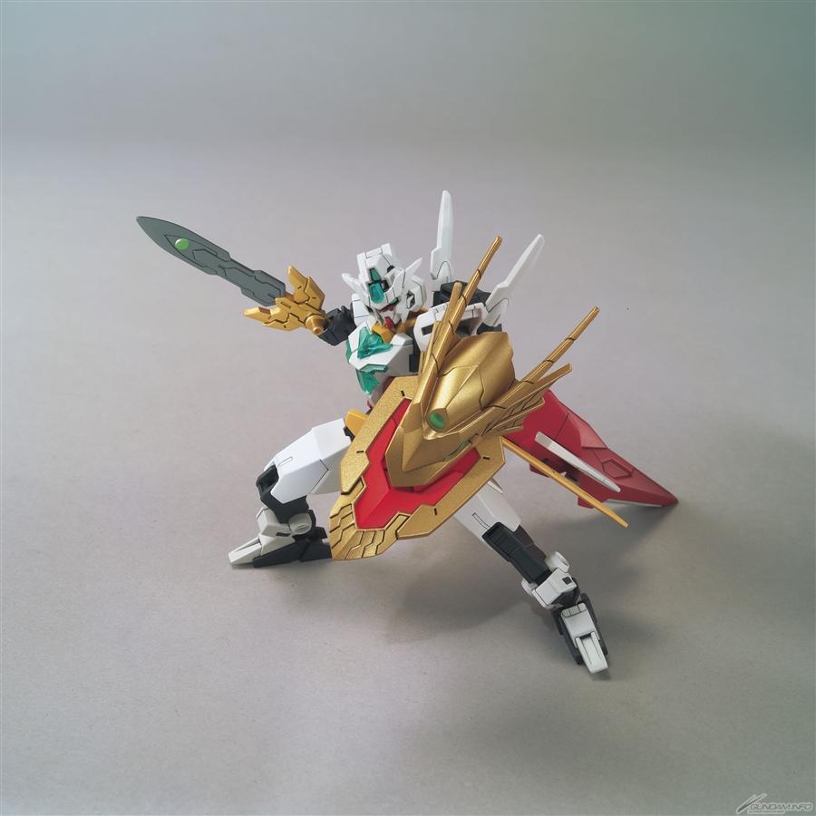 HGBD R 1-144 Uraven Gundam dùng giáp của Kningt