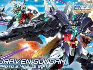 Mở bán HGBD R 1-144 Uraven Gundam 11
