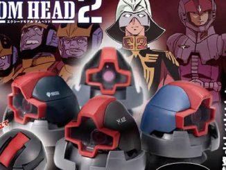 Bộ sưu tập 4 mô hình đầu của nhân vật DOM 5