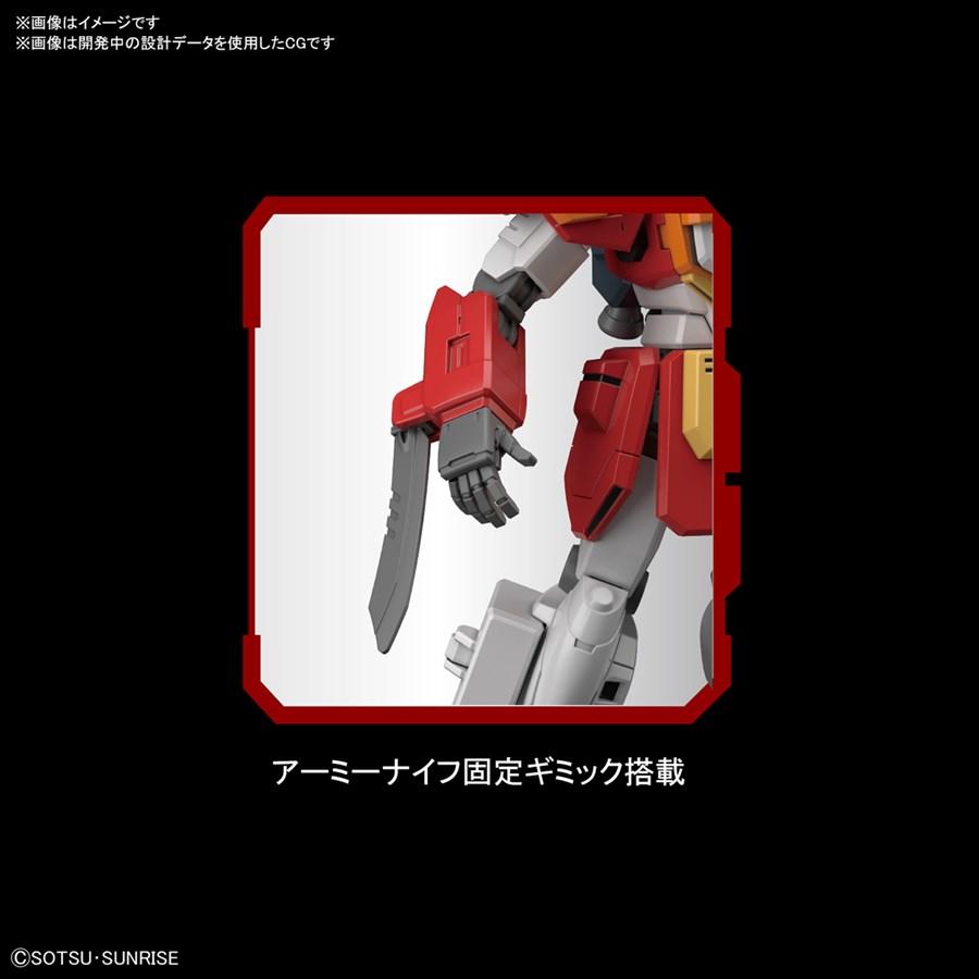 HG Gundam HGAC Heavyarms cũng trang bị kiếm