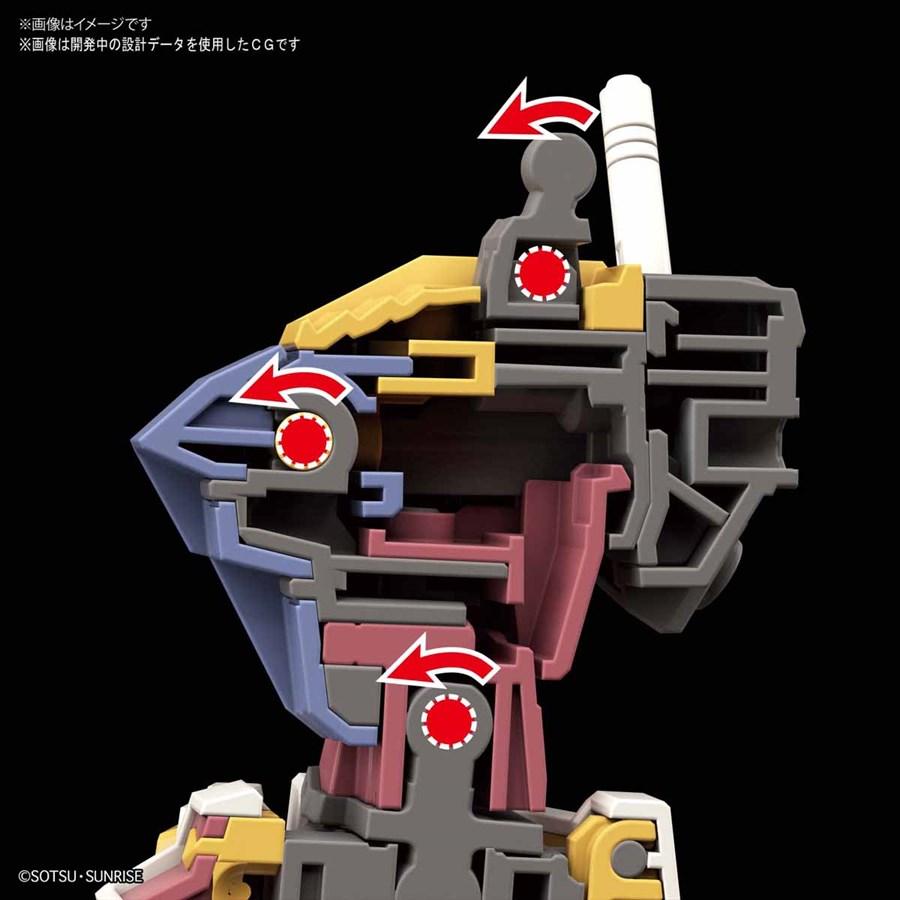 rx 78 2 sử dụng công nghệ khớp nối mới