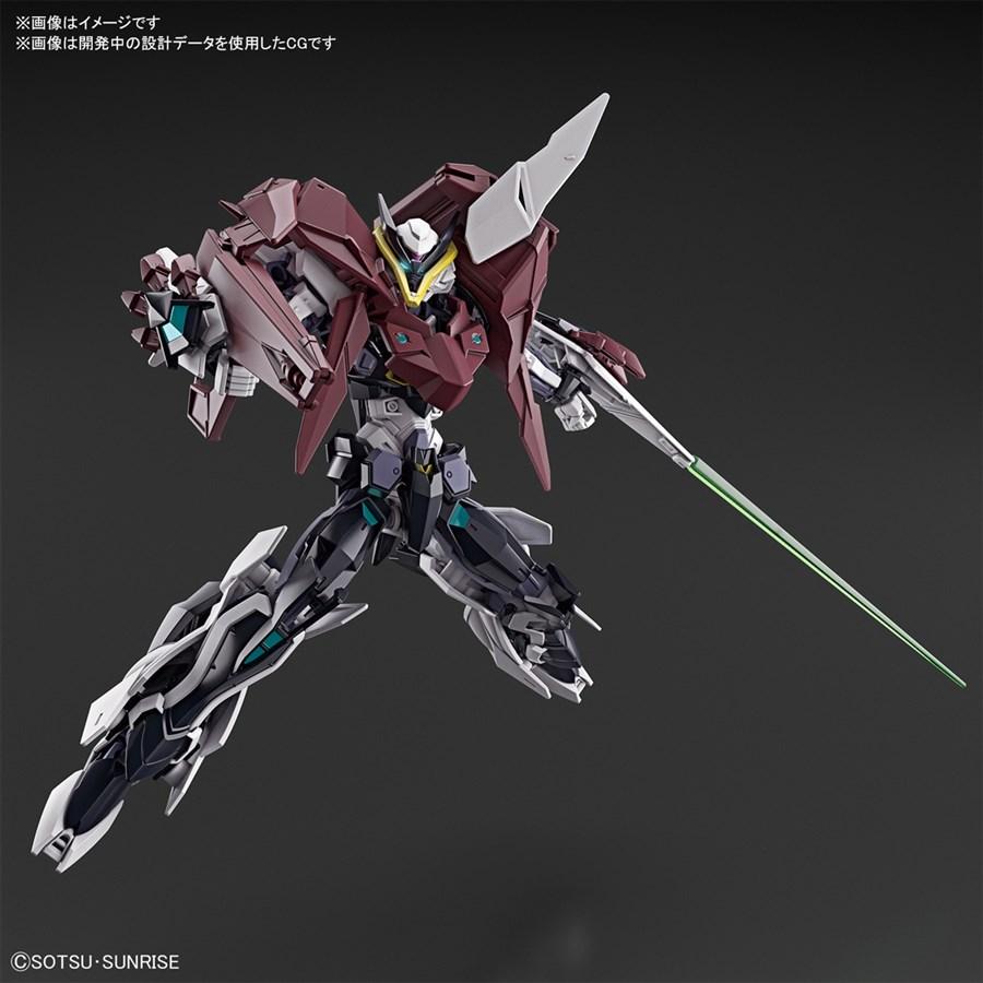 HGBD R Gundam Astray Type New MS sau khi lắp ráp hoàn chỉnh