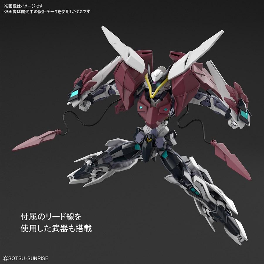 HGBD R Gundam Astray Type New MS tạo dáng chiến đấu