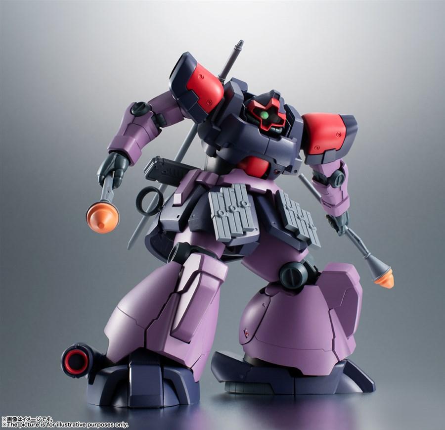 ROBOT SPIRITS Dom Tropen có phần váy trước và váy sau gắn thêm đạn dự phòng