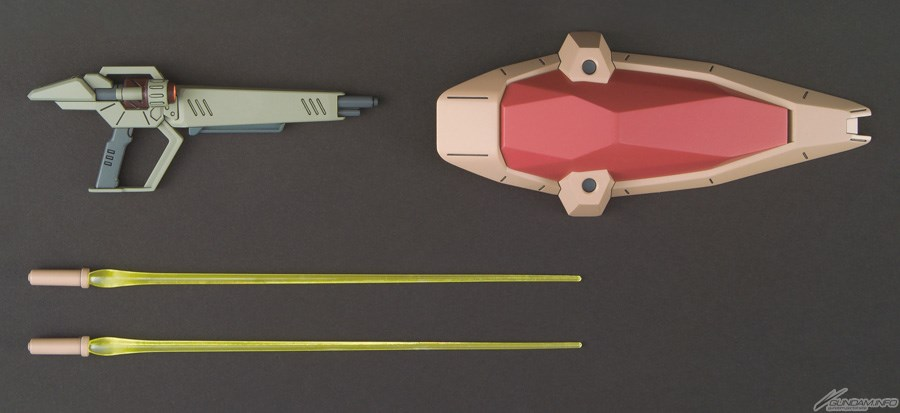 các vũ khí của HG Messer Type-F01