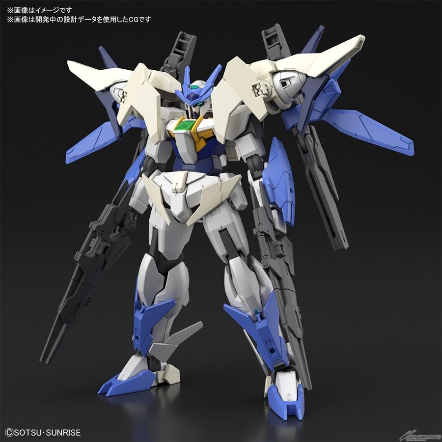 Bandai phát hành HGBD:R New 00 Gundam và New Gundam Astray tháng 11 1
