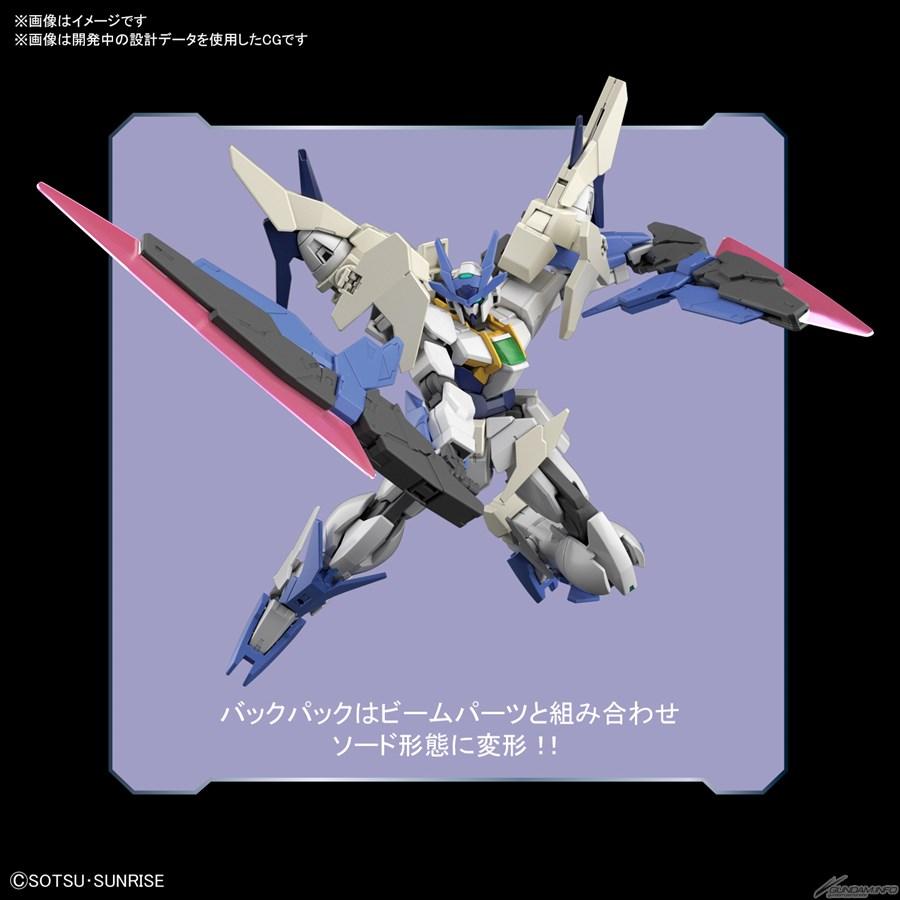 Bandai phát hành HGBD:R New 00 Gundam và New Gundam Astray tháng 11 4