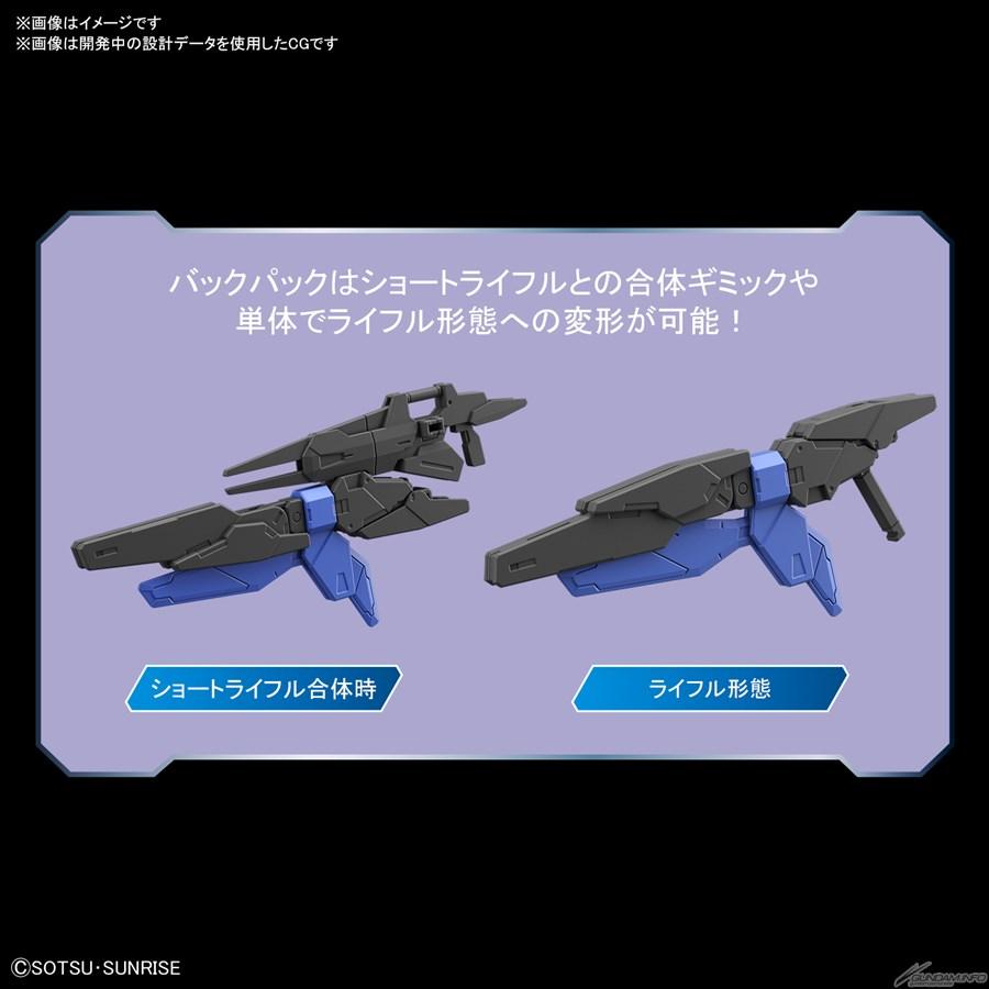 Bandai phát hành HGBD:R New 00 Gundam và New Gundam Astray tháng 11 5