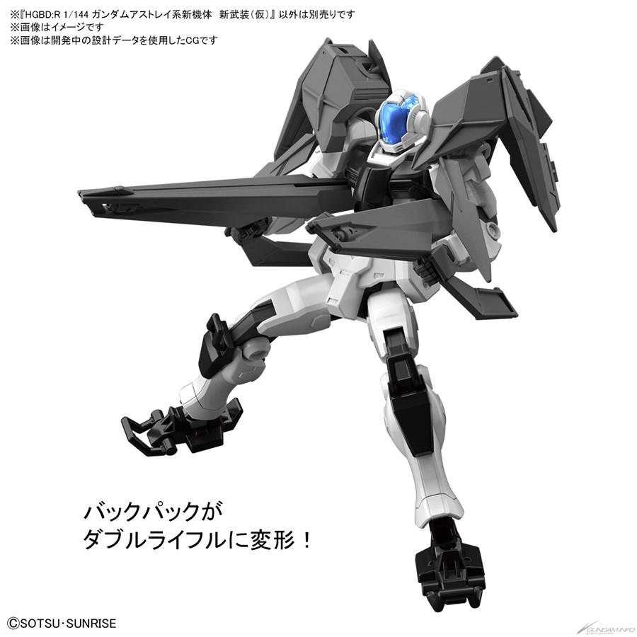Bandai phát hành HGBD:R New 00 Gundam và New Gundam Astray tháng 11 7