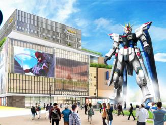 Tượng Gundam đầu tiên kích thước siêu to khổng lồ tại Thượng Hải 12