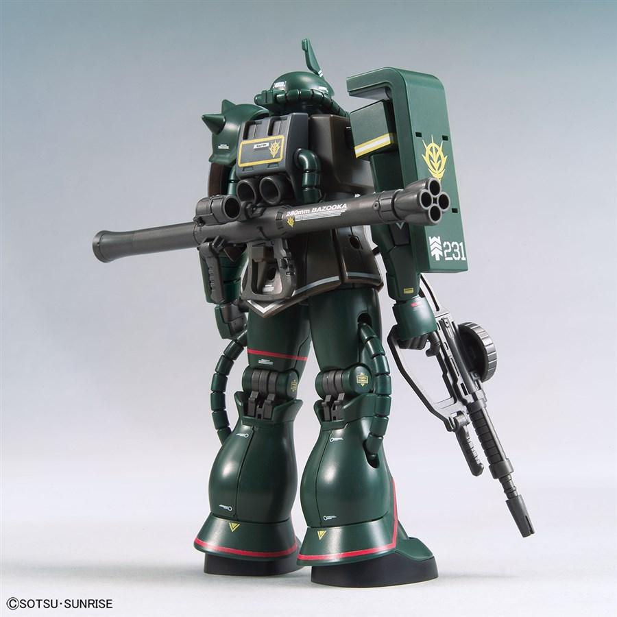 Mở bán trong tháng 1 này, 3 gundam limited: xuất hiện HG Zaku II 3