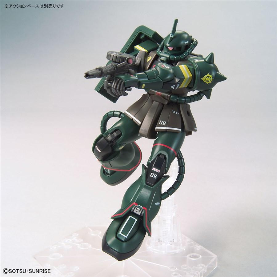 Mở bán trong tháng 1 này, 3 gundam limited: xuất hiện HG Zaku II 2